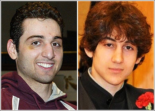 Tamerlan and Dzhokhar Tsarnaev are suspects in the April 15 Boston Marathon Bombing, on Kambui mental unrest blog