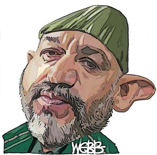 Hamid Karzai once again caught in corruption web with CIA involvement - kambui blog