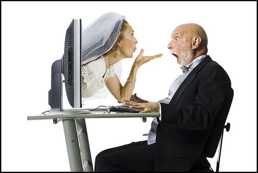 Marriages from online dating