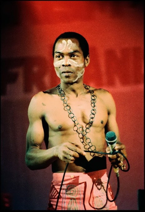 Fela remixes by Ossie, Pete Rock & Ini, Tall Black Guy, Auntie Flow, and Ondatrópica