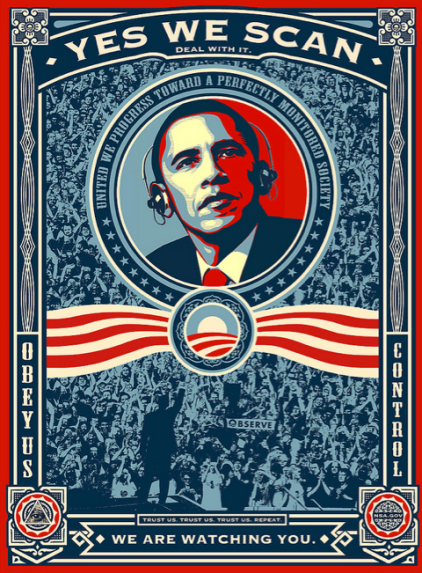 Obama NSA Yes We Scan