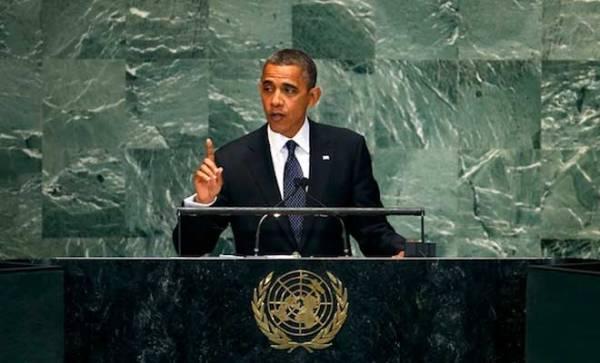 Obama UN General Assembly Speech