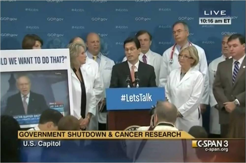 eric cantor with gop doctors caucus