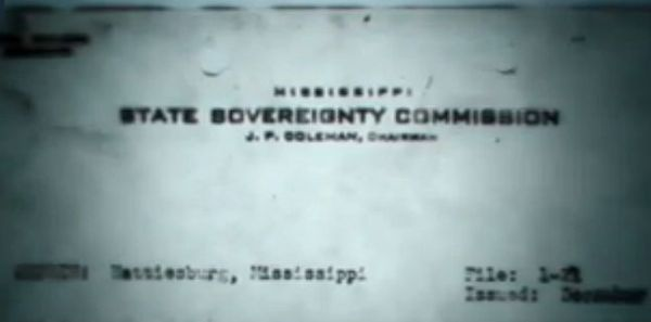 Mississippi State Sovereignty Commission