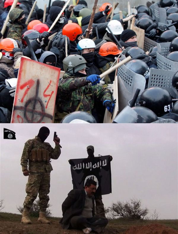 urkraine right wing extremists and isis
