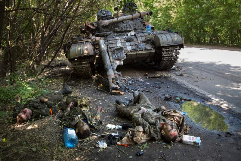 dead-ukrainian-soldiers-near-destroyed-tank