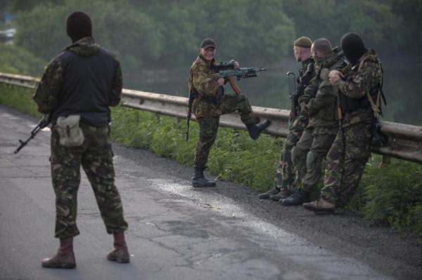 pro russian soldiers