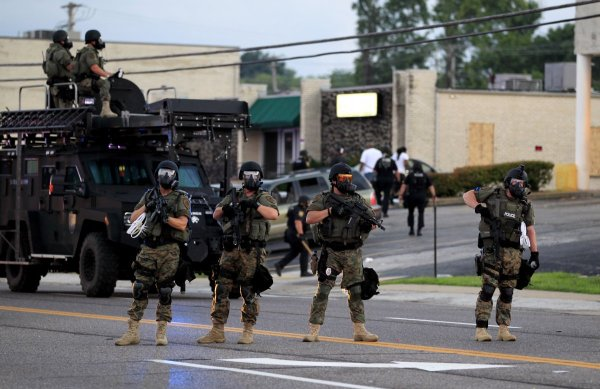 ferguson mo swat team