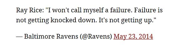 ray rice press conference live tweet fail by ravens