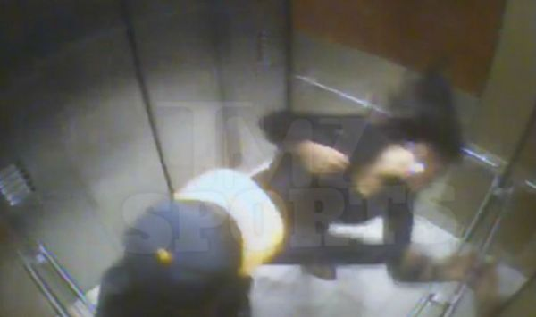 baltimore ravens running back ray rice punching wife
