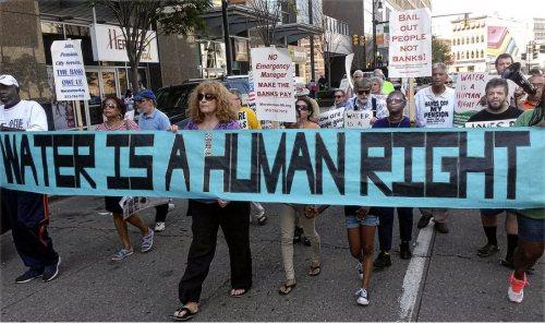 detroit water activists