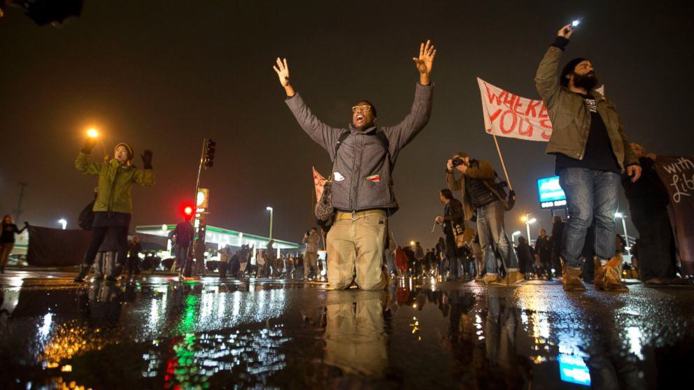 Grand jury's refusal to indict officer Darren Wilson for shooting Michael Brown paves way for additional shootings