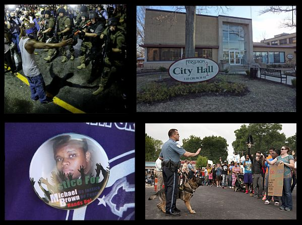 city of ferguson missouri is a criminal enterprise with michael brown just an example