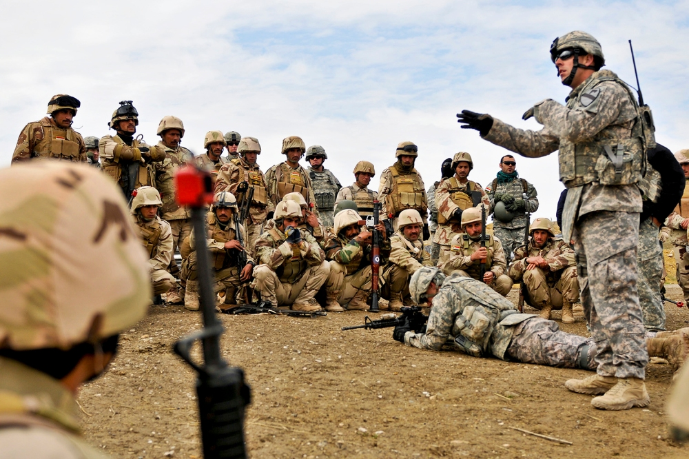 us army will train iraqi soldiers for new offensive against islamic state in spring 2015