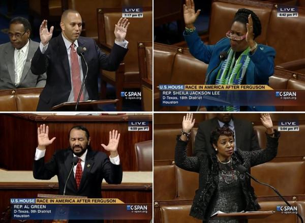 members of congressional black caucus discuss ferguson missouri and race
