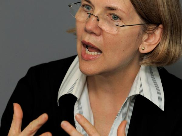 elizabeth warren speech about bailout provision in omnibus bill
