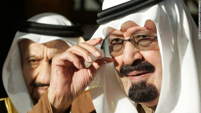 saudi arabia's king abdullah, now dead, leaves behind stained human rights record
