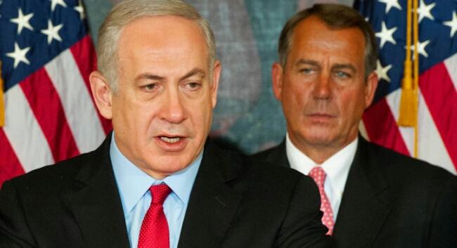 israel prime minister netanyahu and us speaker boehner