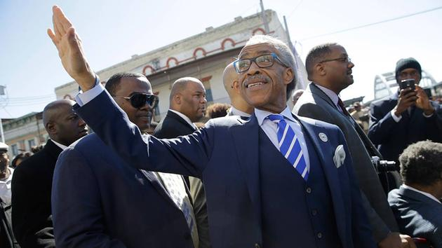 rev al sharpton at selma 50