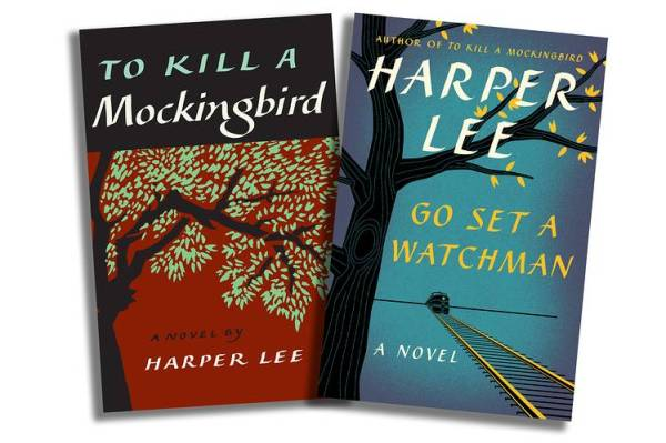 harper lee books go set a watchman and to kill a mockingbird