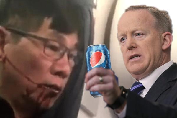 Sean Spicer, Pepsi, David Dao
