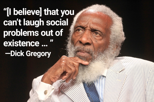 Dick Gregory comedian dead