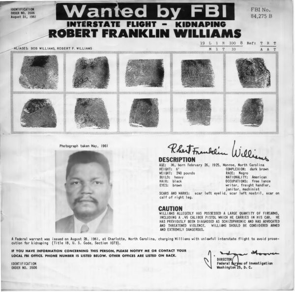 Robert. F. Williams FBI