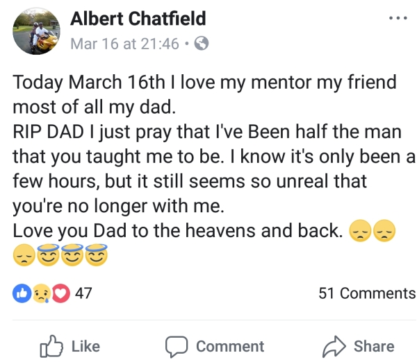 albert chatfield tased dead