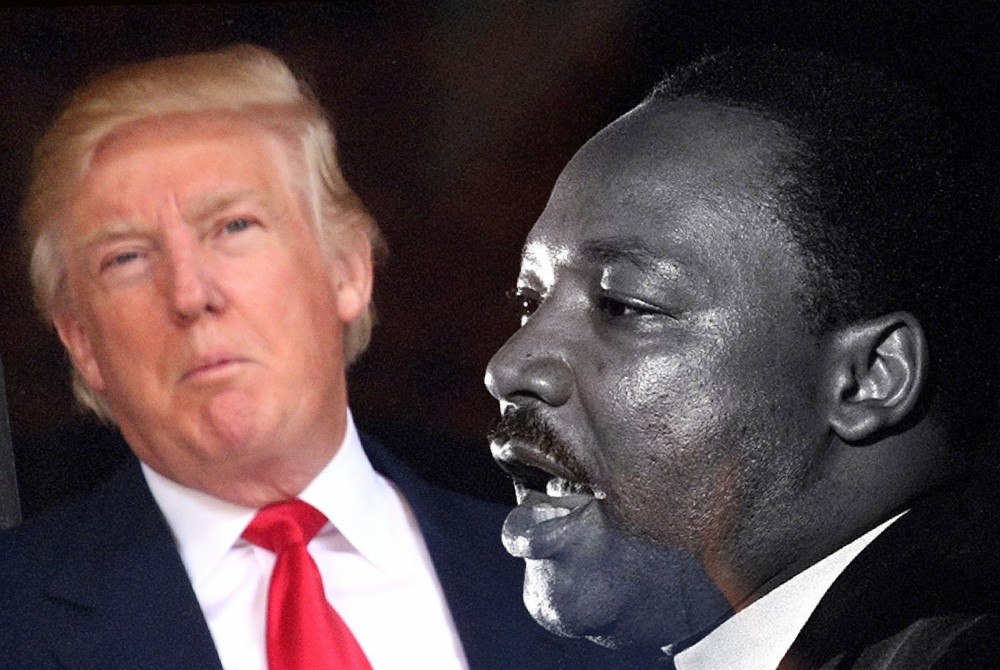 mlk assassination donald trump