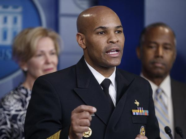 us surgeon general jerome adams coronavirus