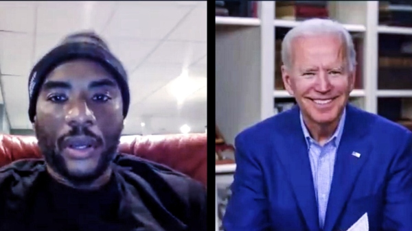 "vice president joe biden ""you ain't black"" charlamagne the god controversy"
