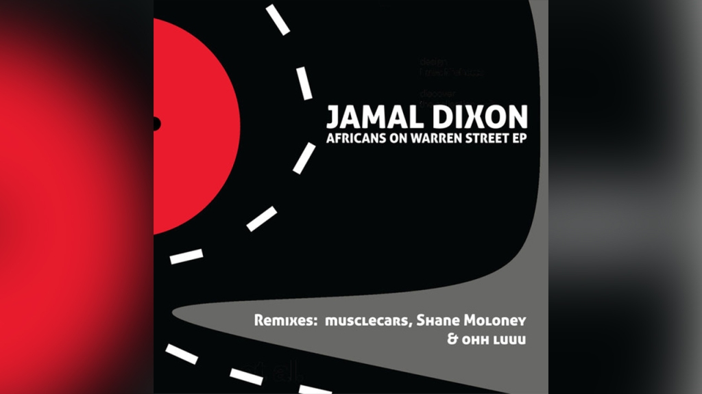 Jamal Dixon, Africans on Warren Street EP release. Album cover shown. Shared by Baye Kambui on Mental Unrest.