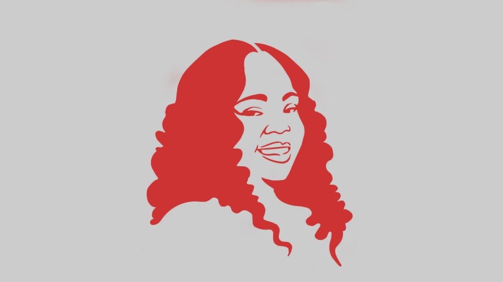 breonna taylor illustration in red