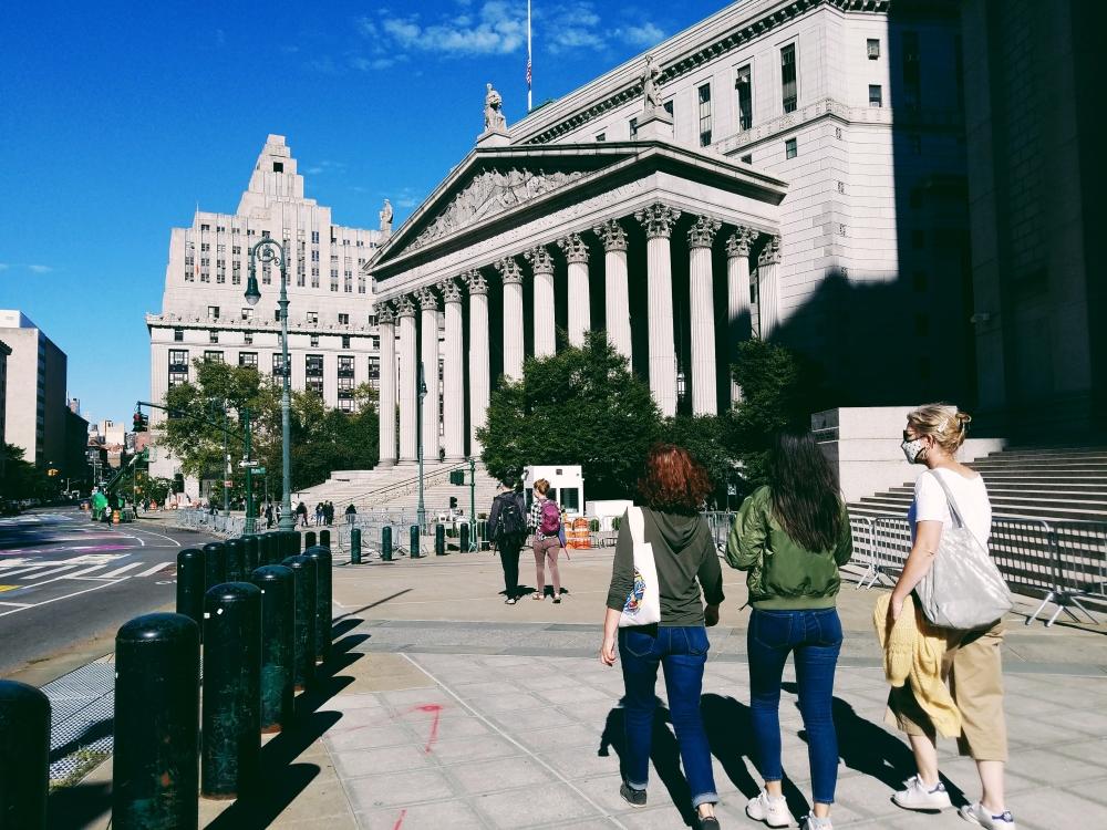 new york city court district lower manhattan
